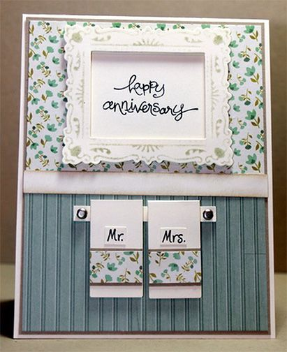 Happy Anniversary - just too cute!