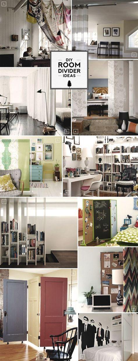 Die besten 25+ Hängende raumteiler Ideen auf Pinterest - schlafzimmer mit spielbereich eltern kinder interieur idee ruetemple