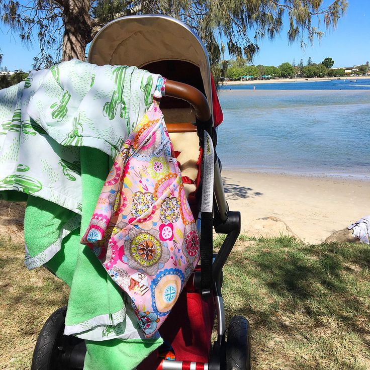 Beach Days made easy with a MilkmaidMumma wetbags ❤