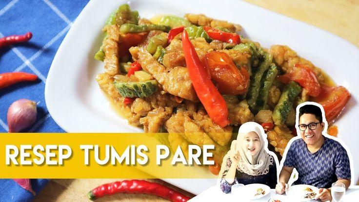 Resep Tumis Sayur Pare/Pariah ala Dapur Adis