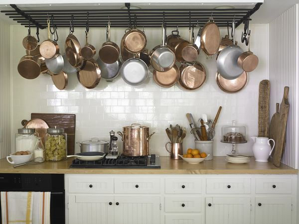 48912n: Pot Racks, Id Kitchens, Beautiful Kitchens, Cabinet, Farmhouse Kitchens, Country Kitchens, Kitchen Ideas, Subway Tiles