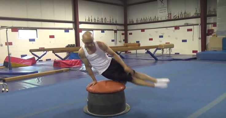 HOW TO LEARN A CIRCLE ON THE MUSHROOM - TUTORIAL - Gymnastics Pommel Hor...