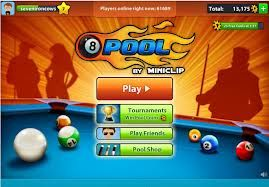 miniclip pool - I play this with my son.  #SquaredOnline