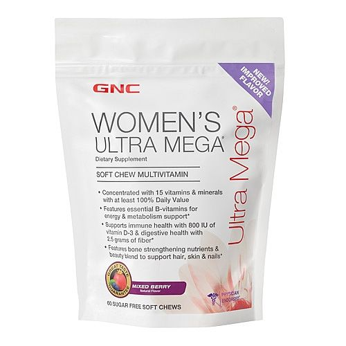gnc women's daily chewable vitamins