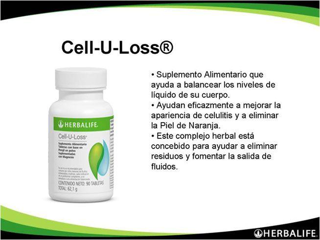 descripcion de productos de herbalife