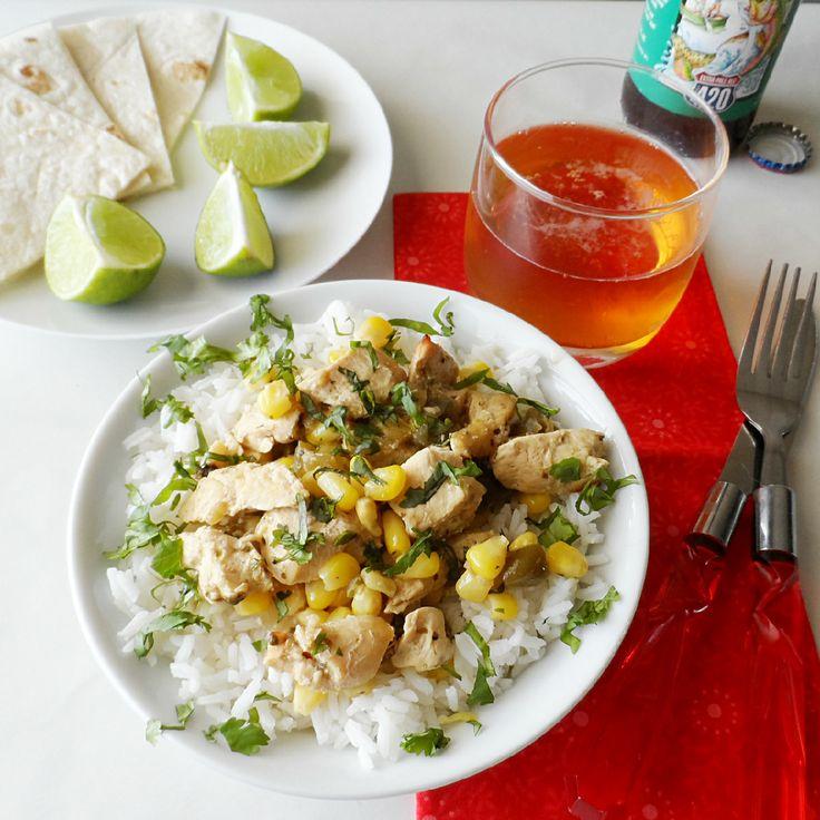 Crockpot Salsa Verde Chicken 5