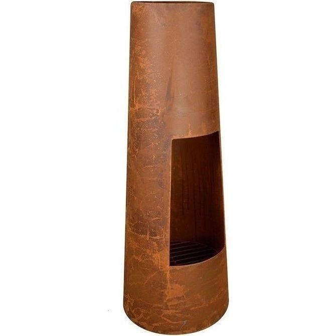 Tardis Round Rustic Outdoor Fireplace 38x100cm | Buy Chimineas & Chimneys
