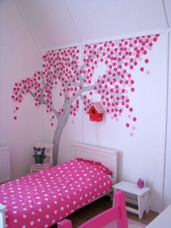 De 25 populairste idee n over meisjes slaapkamer decoraties op pinterest - Decoratie kamer slapen schilderij ...