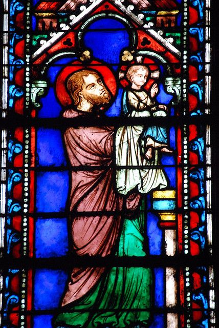 Sainte Chapelle Stained Glass Detail