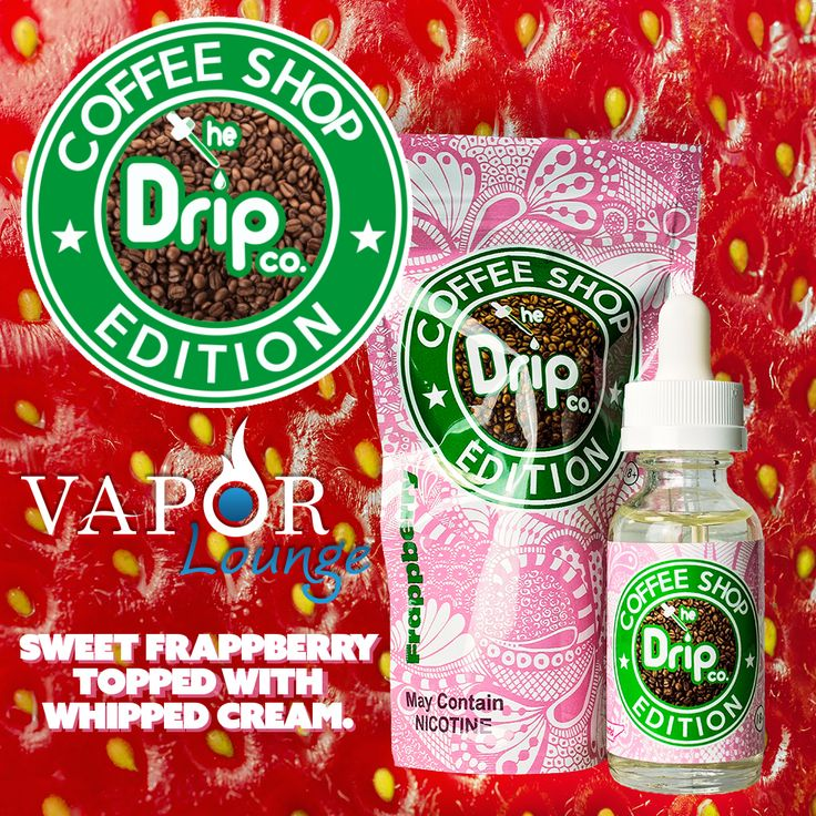 Blended for sub ohms to give you bigger clouds and more flavor. A sweet Frappberry topped with whipped cream. Enjoy a 30mL bottle from The Drip Co. today!