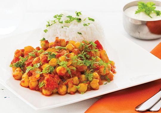 Chickpea and Tomato Curry recipe - Countdown Recipes