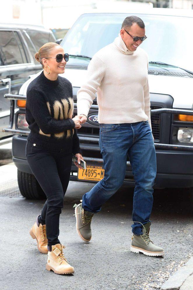 25a631436c Jennifer Lopez and Alex Rodriguez leave Nello Restaurant in NYC