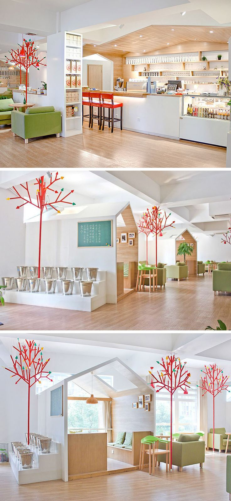 289 best Dining Spaces images on Pinterest | Cafe restaurant ...