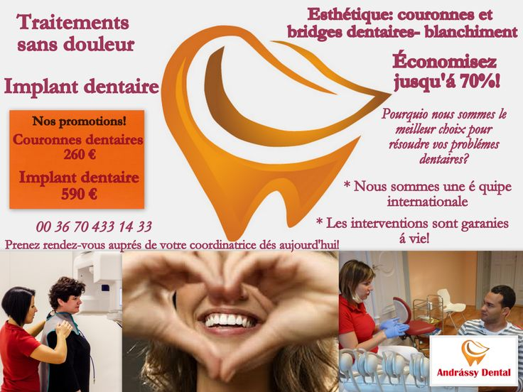 Nos promotions!