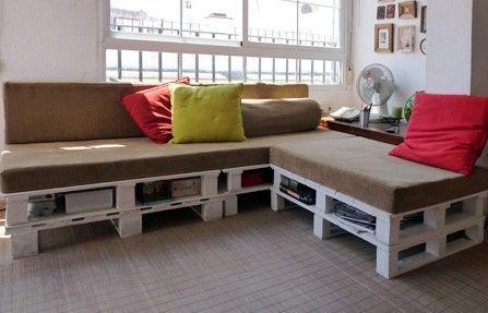 Erstellen Sie eine Palette Sofa in nur 3 einfachen Schritten