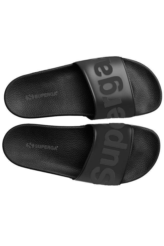 SUPERGA - Pool Slide - Total Black
