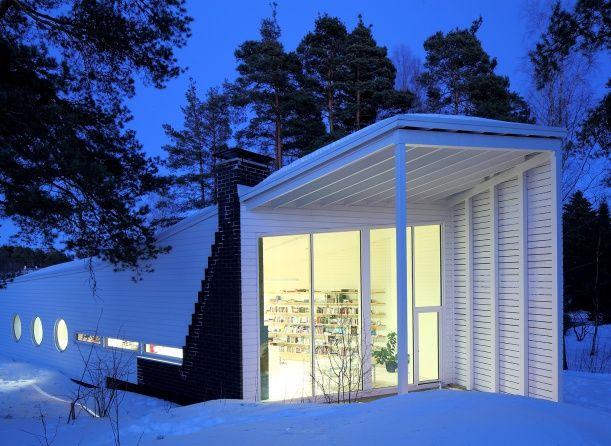 "Finská ""tupa"" zvaná Apelle. Design: Casagrande laboratory."