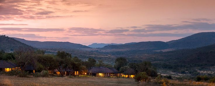 Spectacular Sundowns as only experienced in the Pilanesberg National Park.