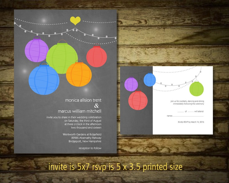 40 best images about rainbow wedding stationery on pinterest, Wedding invitations