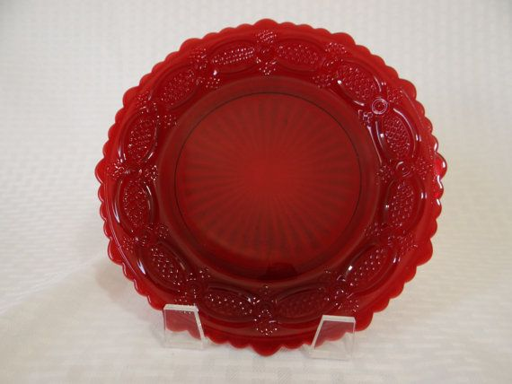 Avon 1876 Cape Cod Collection Bell - Ruby Red Bell - Collectible Bell - Avon Bell - Red Avon Bell - Red Bell - Glass Bell & 12 best luminarc ruby red dinnerware images on Pinterest | Red ...