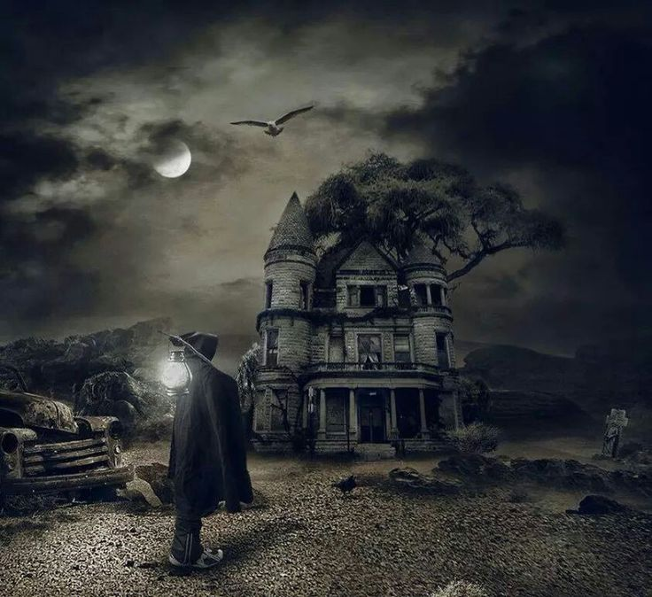 Art gothic scenery fantasy magic gothic grim for Old house music artists