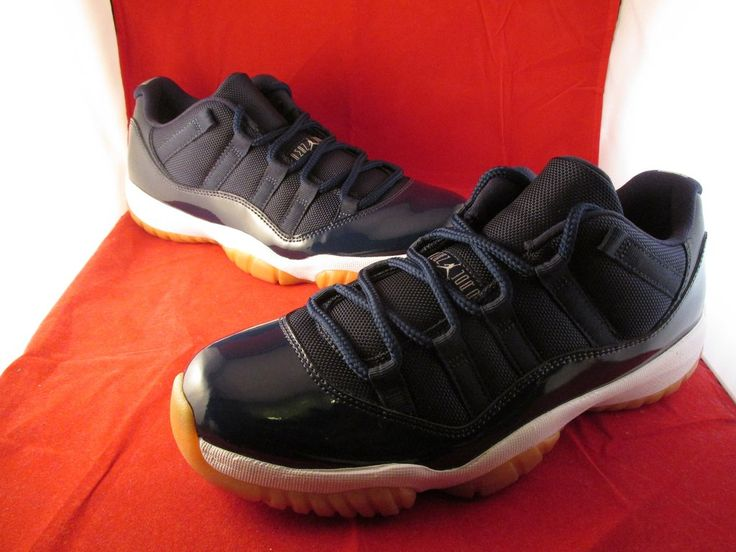 Air Jordan XI (11) Retro Low Navy Gum