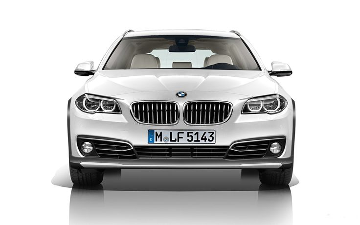 BMW 5 Touring with X - Outdoor Pack - Version #2 | BMW 5 Touring s X - Outdoorovým paketem - Verze #2