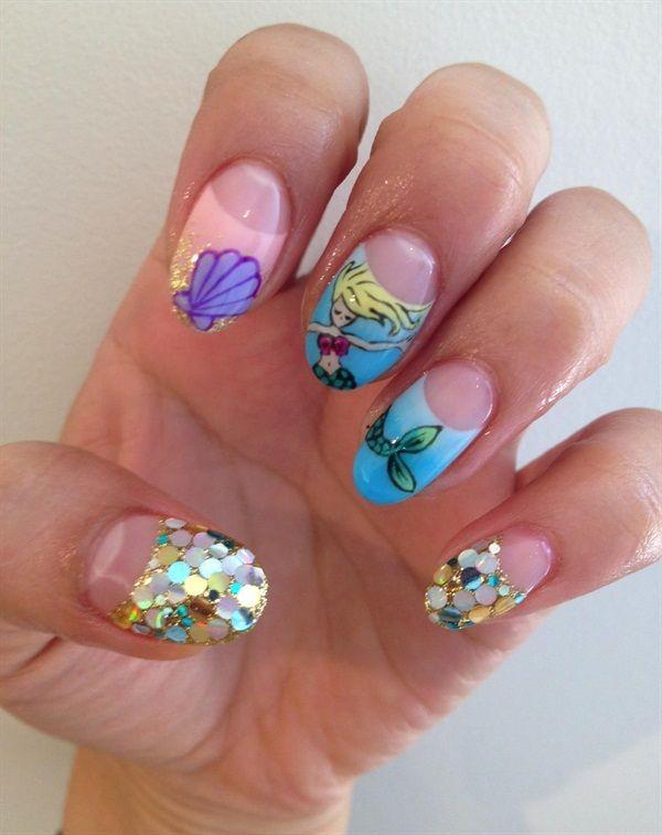 Mermaid Dreams Nail Art - Style - NAILS Magazine