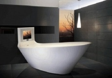 High-tech bathtubs