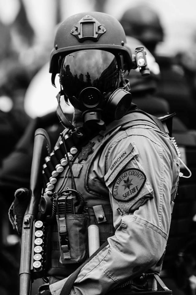 San Diego SWAT Officer 2016