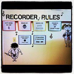 Recorder reminders