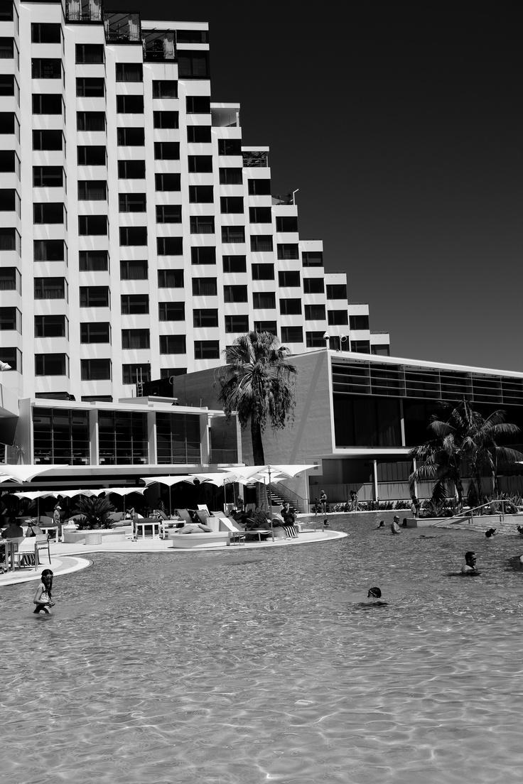 Crown Metropol Perth Pool Area #perth #westernaustralia #crowncasino #pool #luxury
