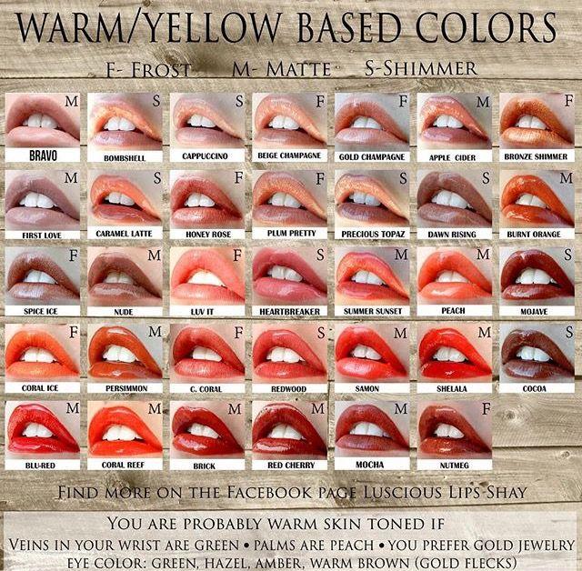 60 Best Lipsense Colors Images On Pinterest Lipstick Inspirational Senegence Color Chart