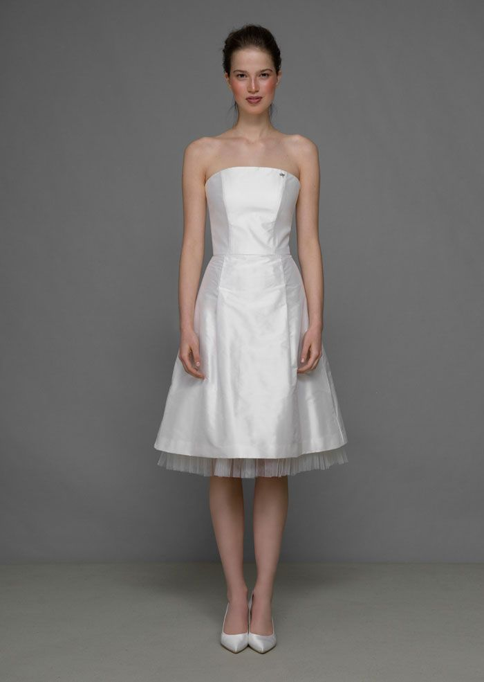 Brautmode von Ploom  Hochzeitskleid für Standesamt oder die Party