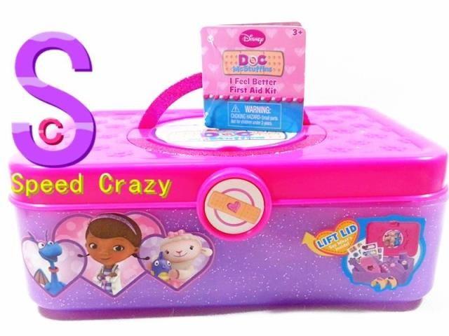 Doc McStuffins 小医师麦芬 迪士尼 医生工具套装 玩具小医生 9件-淘宝网
