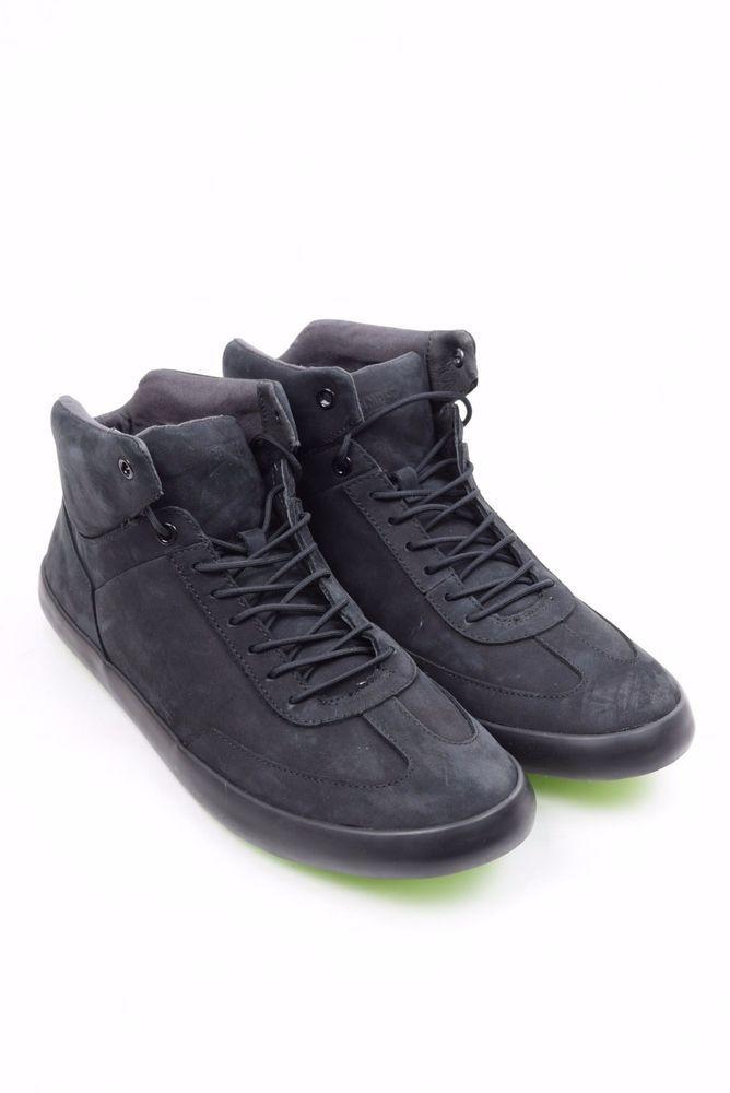 NEW Camper Men's Leather Sneakers Black #Camper #Sneakers