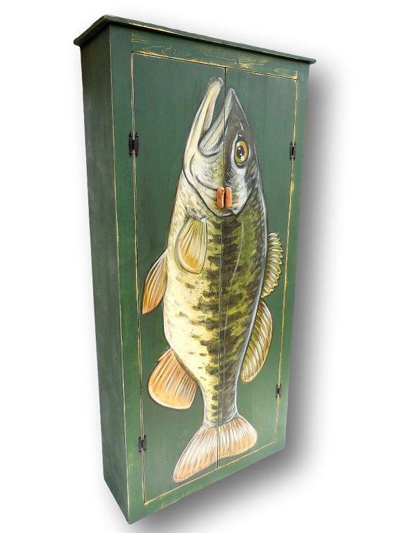 Rustic Cabinet, Cabin Furniture, Dining Room Storage, Wooden Cabinet, Man  Cave Furniture, Kitchen Pantry, Kitchen Storage, Fish Furniture