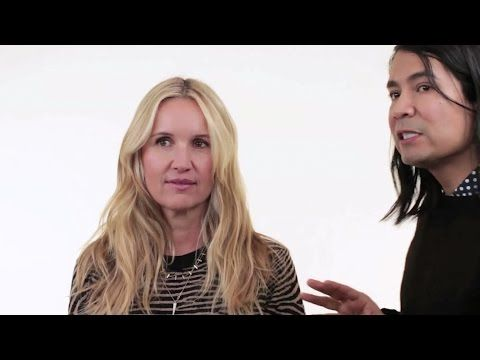 Celebrity Hair Stylist Cervando Maldonado does Beach Hair on Monika Blunder - YouTube