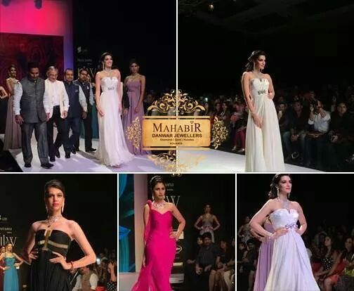 MAHABIR DANWAR JEWELLERS SUCCESSFULLY LAUNCHED BOLLYWOOD BRIDAL COLLECTION AT INDIA INTERNATIONAL JEWELLERS WEEK 2014