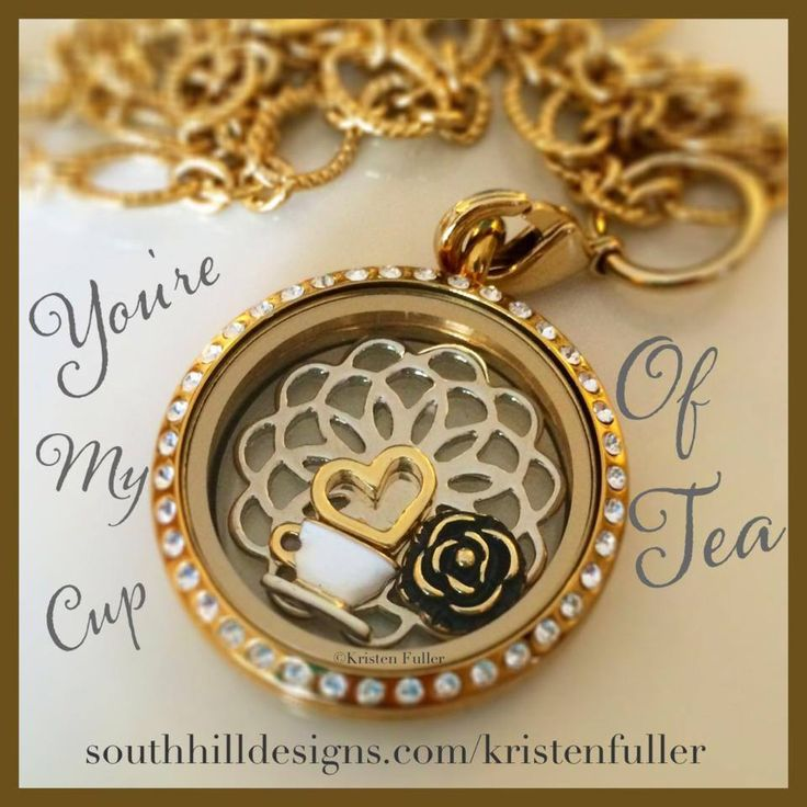 You are my cup of tea! I just adore the teacup charm!