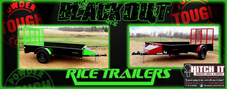76 x 12 Powder Coated Utility Trailer Oklahoma Hitch It Trailer Sales, Trailer Parts, Service & Truck Accessories in Broken Arrow OK Lark Big Tex Rice Haulmark GREEN RED GRAY ORANGE BLUE POWDER COAT www.HitchItBA.com www.facebook.com/HitchIt  www.facebook