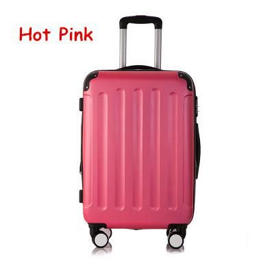 Universal wheels trolley luggage password box luggage trolley female 20 travel bag luggage,girl lovely abs case travel luggage