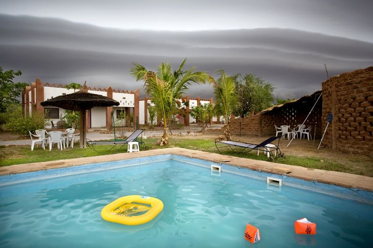 A swimming pool in Weotinga, Burkina Faso.  | www.piclectica.com