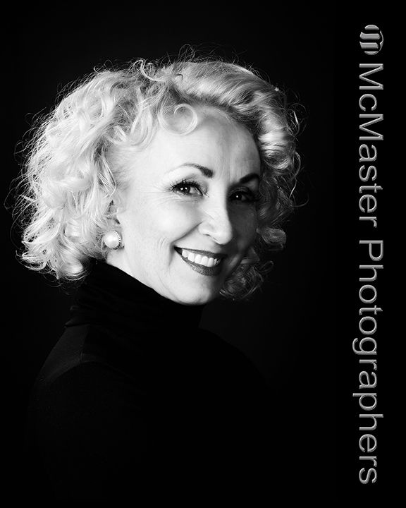 A beautiful glamour photograph does not have to be in colour.