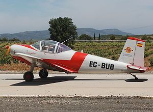 First flight of the Iberavia I-11 utility aircraft 16/7 1951.