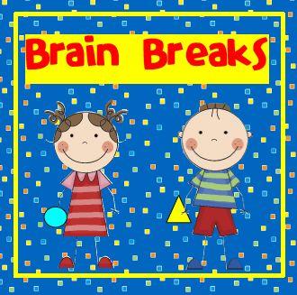 Brain Breaks and free printable.