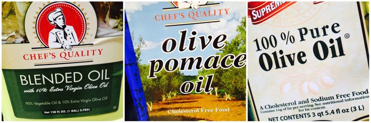 Never buy blended, pure, or pomace olive oil. No use in good cooking, ever. #notEVOO