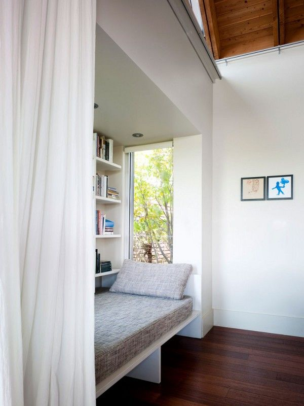 book nook with single bed