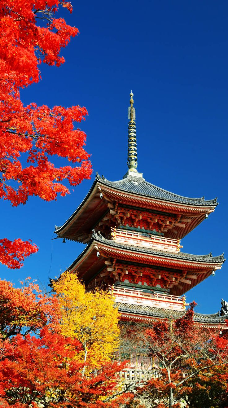 The Pagoda of Kiyomizu-dera in Kyoto, Japan. | 19 Reasons to Love Japan, an Unforgettable Travel Destination