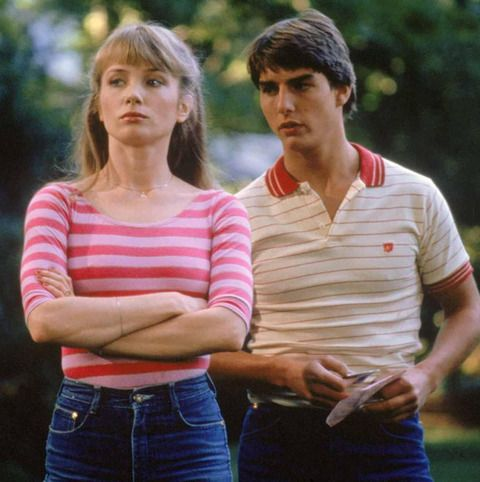 """Rebecca De Mornay made her silver-screen debut as the lady of the night Lana -- opposite Tom Cruise -- in the '80s classic """"Risky Business."""""""